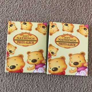2 Hardcover Photo Albums
