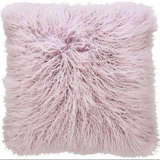 SHERIDAN Lilac Fur Cushion