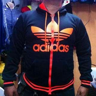 Adidas Hoodie Jacket ( XL )