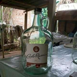 Botol Cantik Besar Carlo Rossi (Kosong)