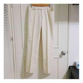 日本品牌 MOSAIQUE 長褲 米黃 瑕疵品【日式二手店 大和堂】