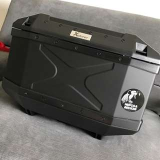 Hepco & Becker Xplorer 45L Black Aluminum