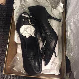 正版Gucci全新女高跟鞋 欧洲碼35