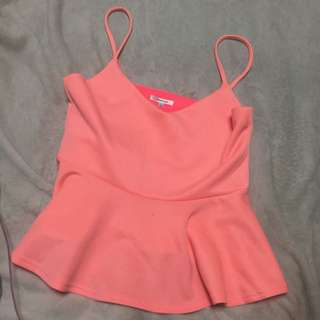 Valleygirl Peachy Top