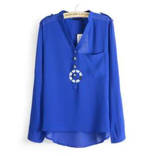 Candy Color Long Sleeves