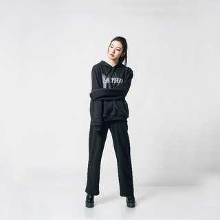 【MIT】Shepherd logo hoodies black