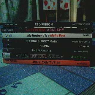 Red Ribbon Labyrinth Academy Vol. 1 My Husband Is A Mafia Boss Vol. 1 Seeking Bloody Mary Hiling The Playmate Vol. 1 The Other Side Why Can't It Be Vol. 1