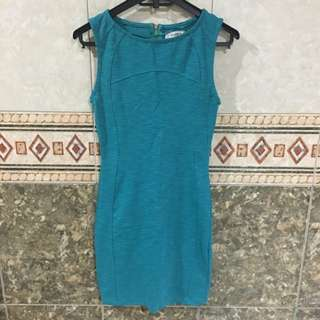 Pull&Bear Mini Green Dress