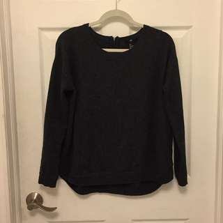 H&M Soft Charcoal Gray Sweater