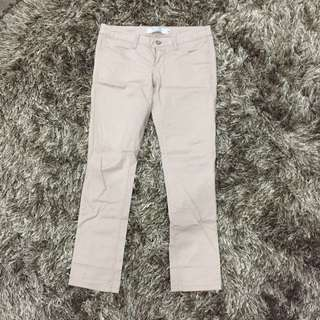 Khakis Low Rise Slim Tapered Giordano