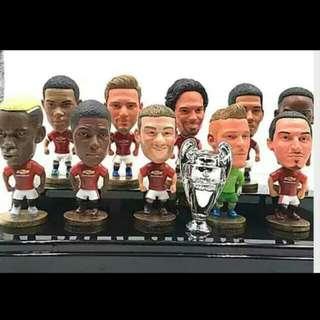Brand new Manchester United (Man Utd) 2016 / 2017 Season Soccer Figurine