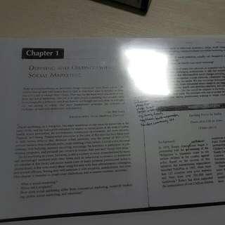 Social Marketing BU8542 Textbook