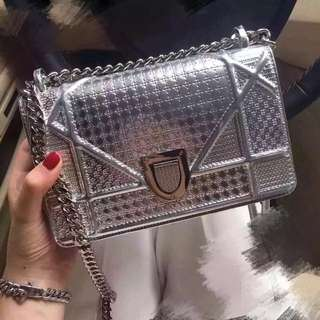 Metallic Chain Bag