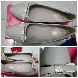 Nude Pink Flat Shoes