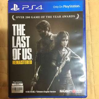(Reserved)The Last of Us PS4 Remastered