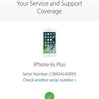 Iphone 6s plus Rose gold (Local set)