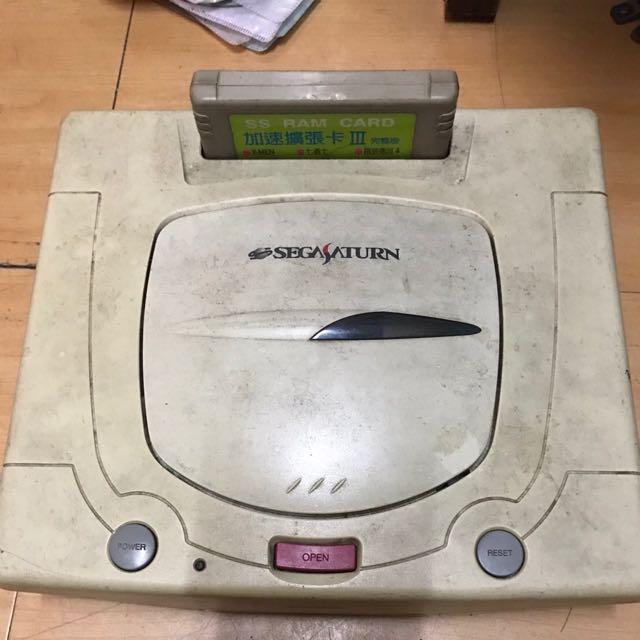 7080年代電玩 要搬家 有心人快收-sega 遊戲機