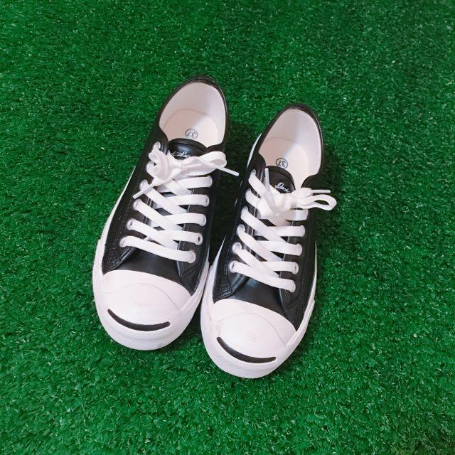 全新✨開口笑帆布鞋
