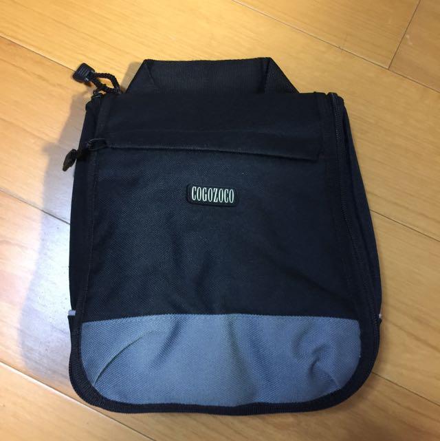 全新出國旅行黑色 收納袋 旅行袋 小物