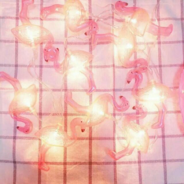 降價!!! ❤韓國超火紅火鶴串燈 裝飾/佈置/ig拍照小物❤