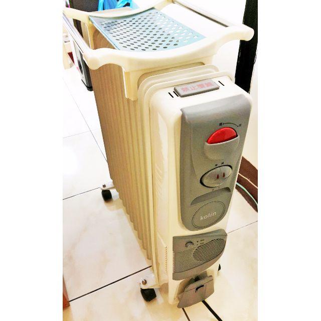 冬天不怕冷 Kolin 歌林 (13葉片)葉片式電暖器KFH-HC013