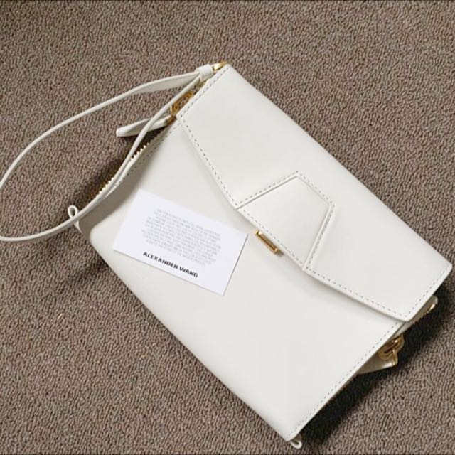 Authentic Alexander Wang Lydia Clutch RRP: $850