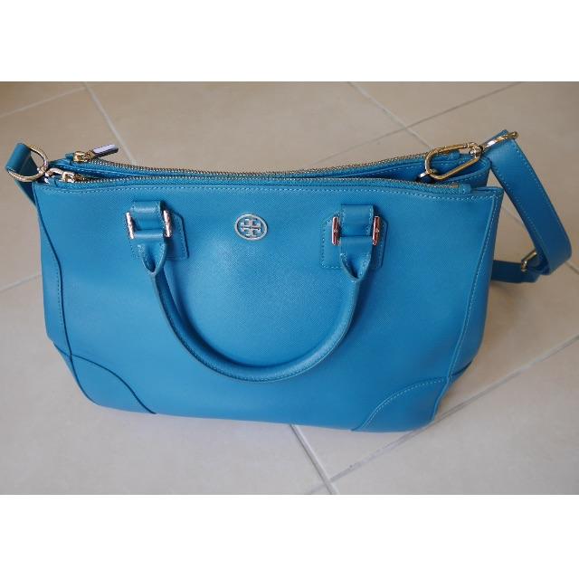 8314d7c925c7 Authentic Tory Burch Robinson Double Zip Tote Bag