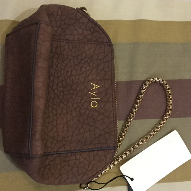 Ayla Two Way Wrislet Or Mini Handbag