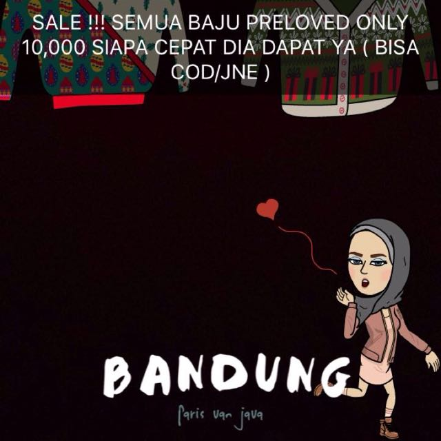 Baju Preloved Sale Only 10,000