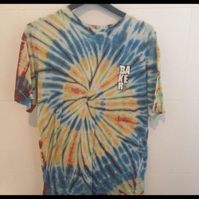 Baker Skateboards Tie Die T Shirt