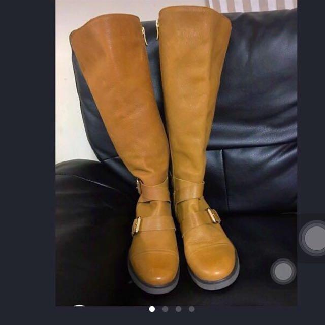 BCBG Tall Riding Boots/ Wide Calf