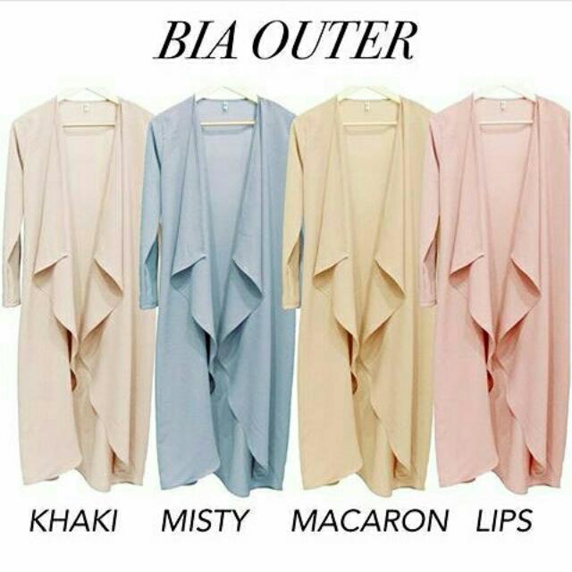 Bia Outer Vanilla Hijab
