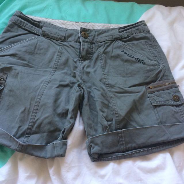 Billabong Cuffed Shorts