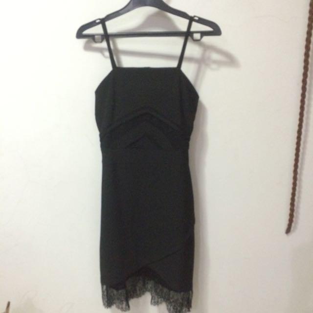 New Black Lace Dress