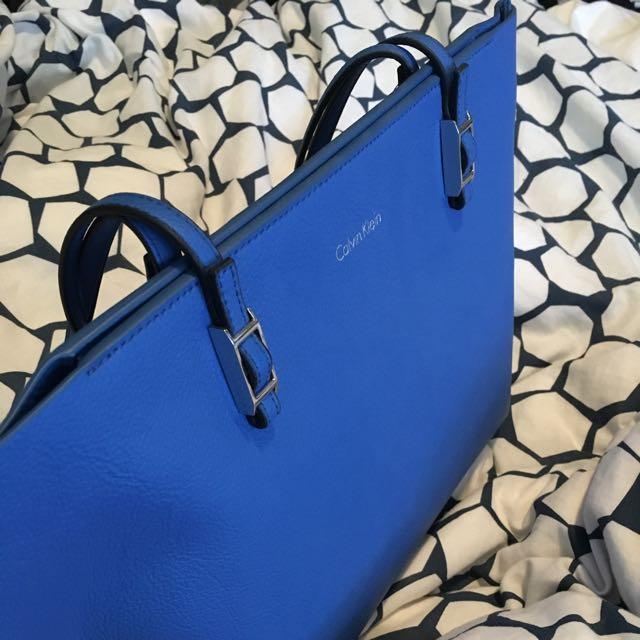 Blue Calvin Klein Bag