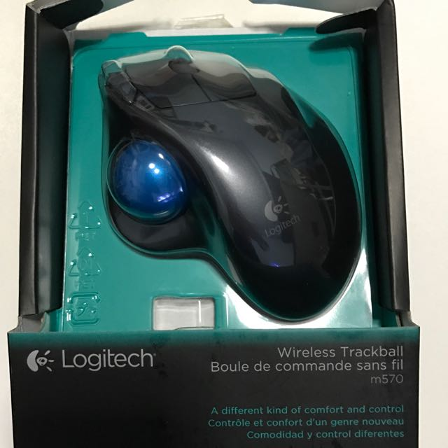 BN Logitech Wireless Trackball (M570), Toys & Games, Video Gaming ...