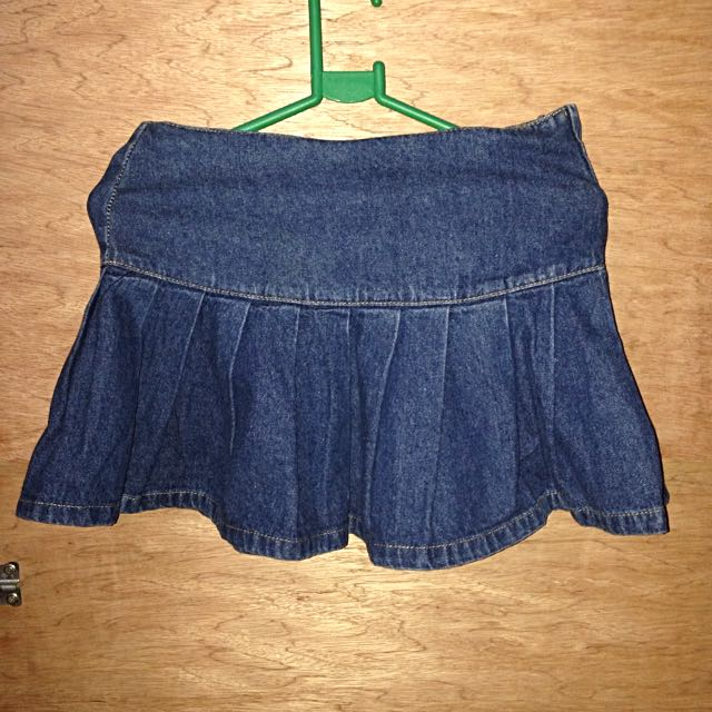 BNY Denim Skirt