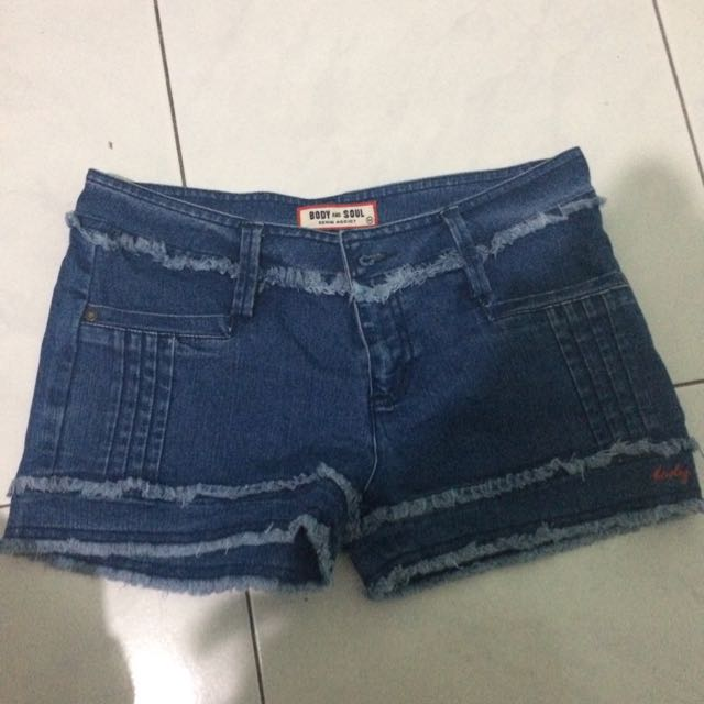 Body And Soul Denim Hotpants