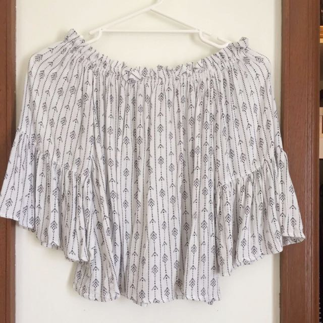 Bohemian Shoulder Top