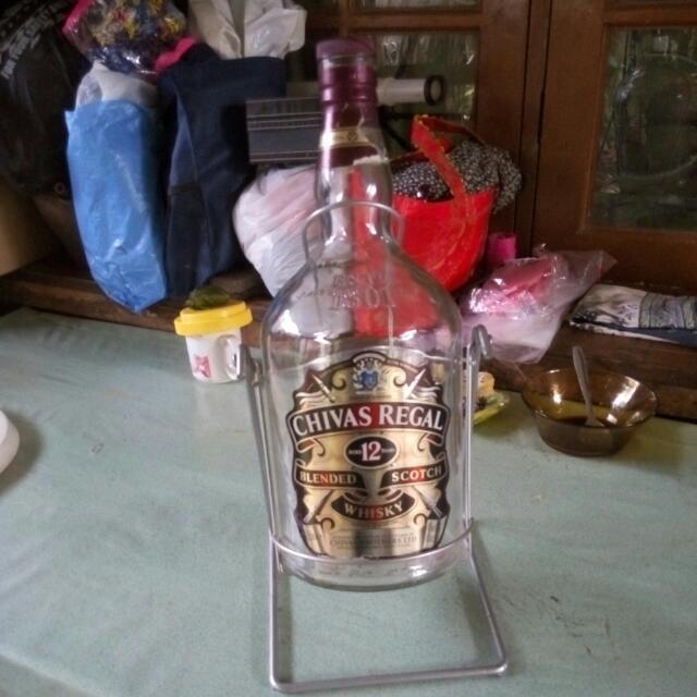 Botol Cantik Chivas Regal (Kosong)
