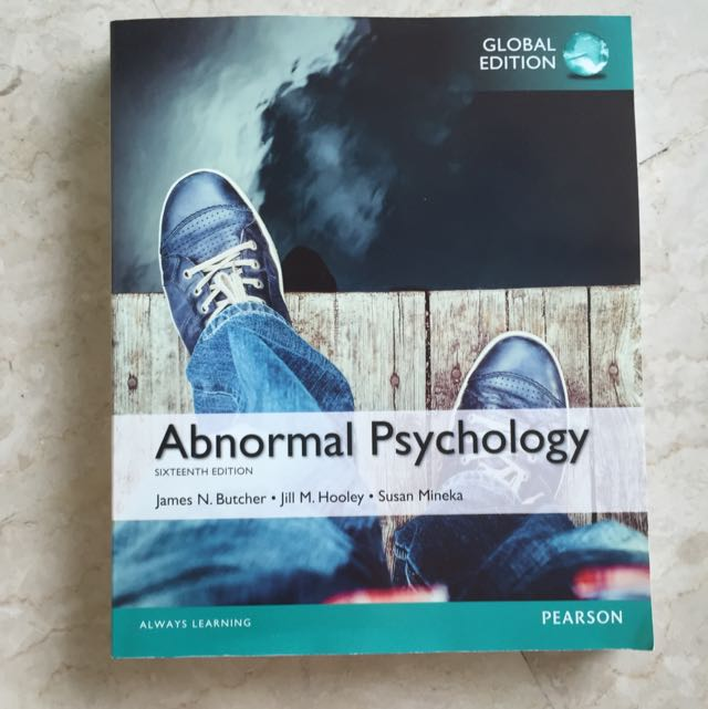 Brand new abnormal psychology textbook pl3236 books stationery photo photo photo photo photo fandeluxe Choice Image