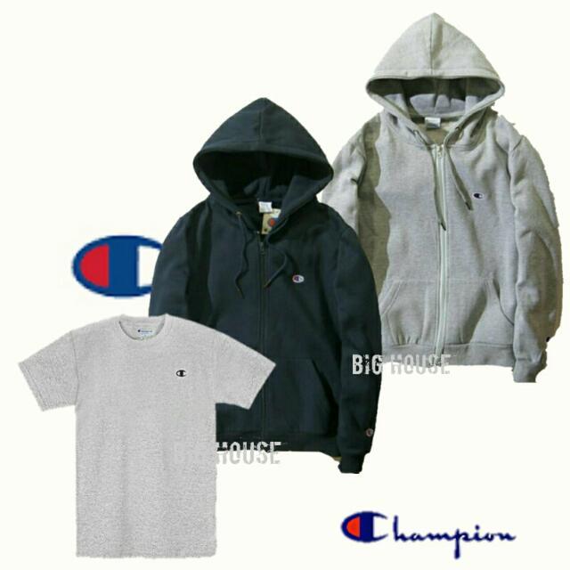 Champion Cotton Jersey T-Shirt.powerblend jacket