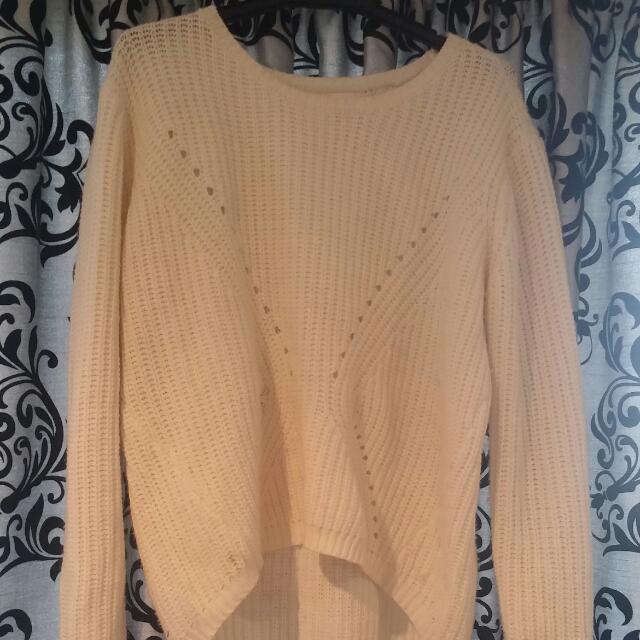 Cream Knit Jumper