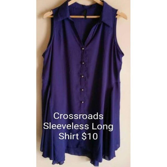 Crossroads Women's Sleeveless Long Shirt