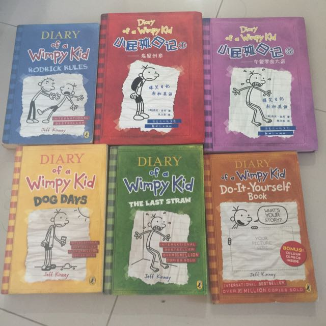 Diary of a wimpy kid books stationery childrens books on carousell photo photo photo solutioingenieria Images