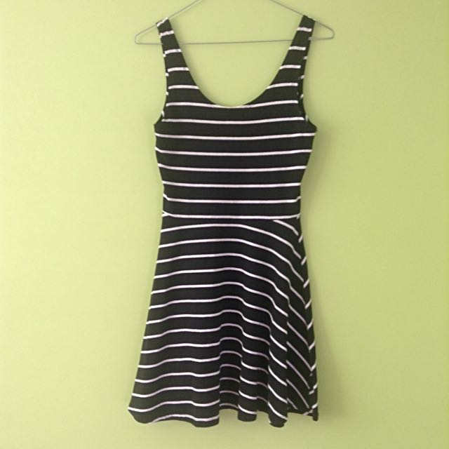 Factory Stripped Dress