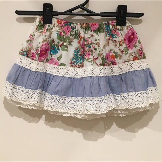 Foral Lace Shorts