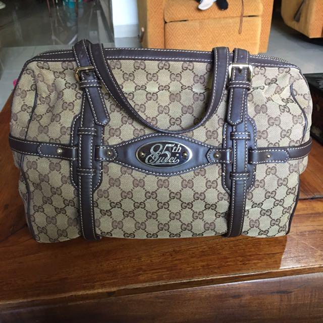 Gucci Monogram Tote Bag Limited Edition