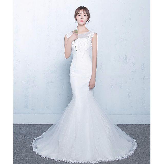 73d2cdf35d3 Korean Style Wedding Dress Lace Mermaid 1 On Carousell