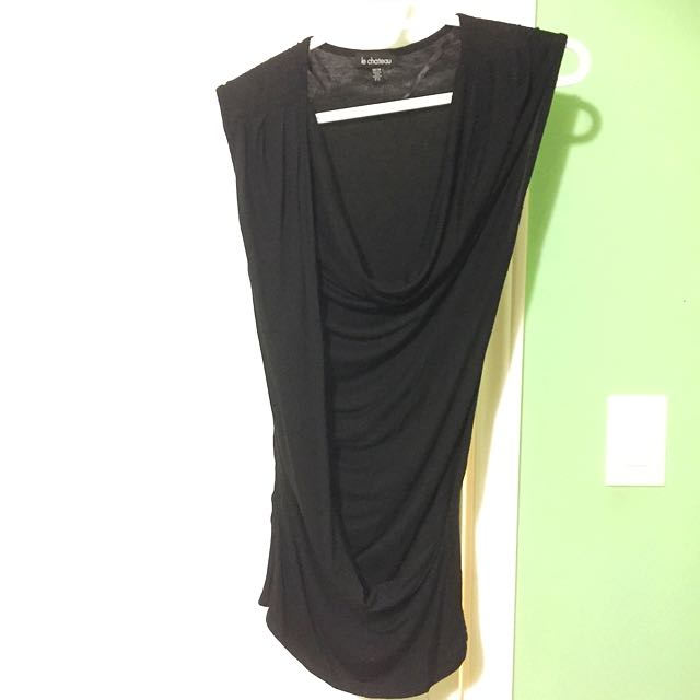 Le Chateau Black Tank Top